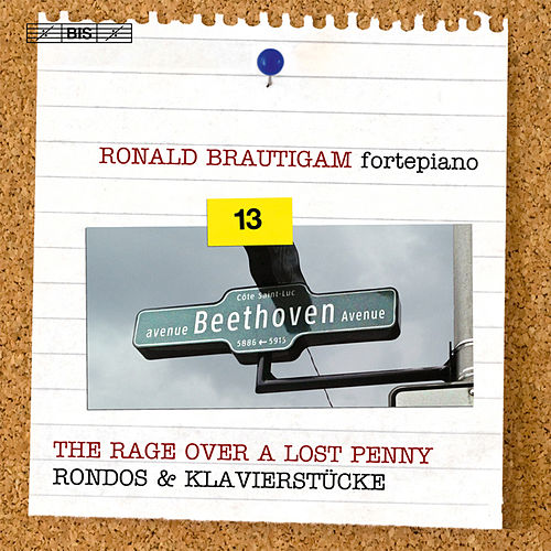 Beethoven: Complete Piano Works, Vol. 13 by Ronald Brautigam