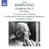 Dohnányi: Symphony No. 2 & 2 Songs by Various Artists