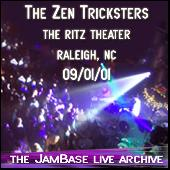 09-01-01 - Ritz Theater - Raleigh, NC by Zen Tricksters