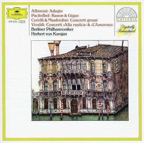 Albinoni: Adagio / Corelli: Christmas Concerto / Vivaldi: L'amoroso by Various Artists