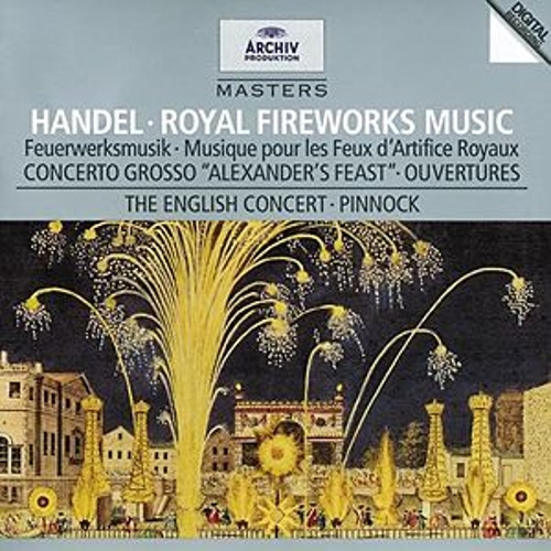 Handel: Music for the Royal Fireworks by Various Artists