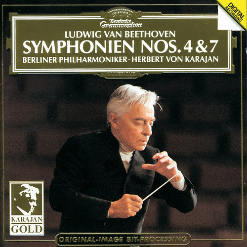 Beethoven: Symphonies Nos.4 & 7 by Berliner Philharmoniker