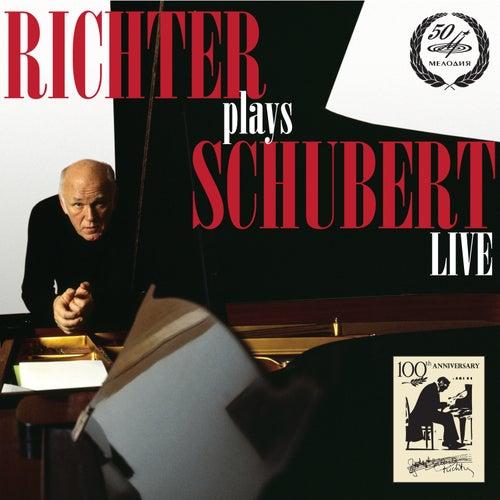 Richter Plays Schubert (Live) by Sviatoslav Richter