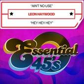 Ain't No Use / Hey Hey Hey (Digital 45) by Leon Haywood