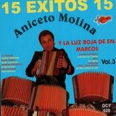 15 Exitos Vol. 3 by Aniceto Molina