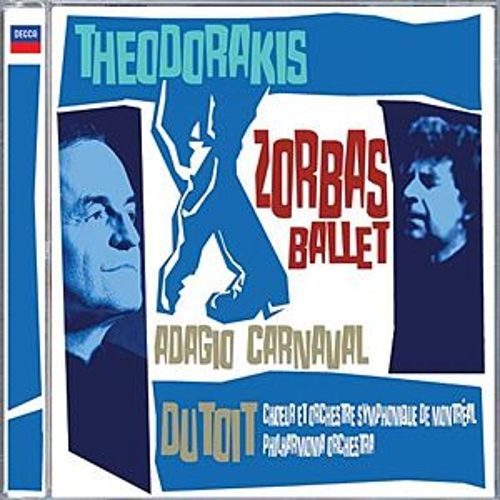 Theodorakis: Zorbas Ballet, etc. by Various Artists