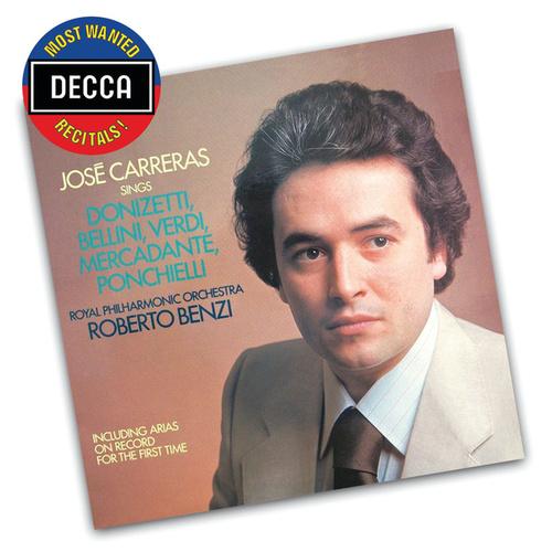 José Carreras Sings Donizetti, Bellini, Verdi, Mercadente, Ponchielli by José Carreras