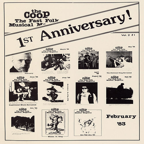 CooP - Fast Folk Musical Magazine (Vol. 2, No. 1) First Anniversary by Various Artists