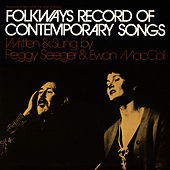 Folkways Record of Contemporary Songs by Ewan MacColl
