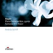Haydn : Piano Sonatas Nos 59 - 62 & Fantasia in C major by András Schiff