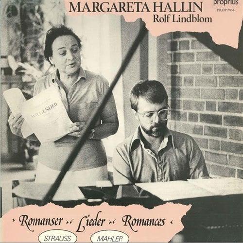 Strauss & Mahler: Lieder by Margareta Hallin