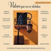 Valses Que No Se Olvidan by Various Artists