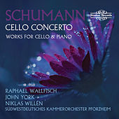 Schumann Cello Concerto and Works for Cello & Piano by Raphael Wallfisch