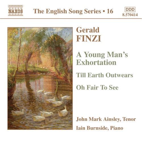 FINZI: Tenor songs by John Mark Ainsley