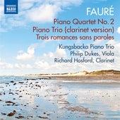 Fauré: Piano Quartet No. 2 & Piano Trio by Various Artists