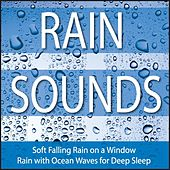 Rain Sounds: Soft Falling Rain On a Window, Rain With Ocean Waves for Deep Sleep by Robbins Island Music Group