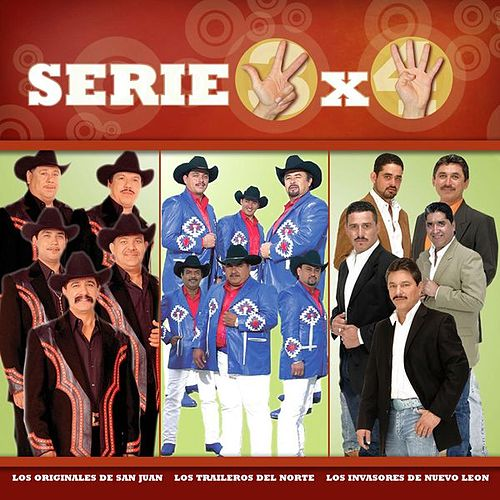 Serie 3x4 (Los Originales, Los Invasores, Los Traileros) by Various Artists