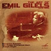 Art of Emil Gilels, Vol. 1 by Emil Gilels