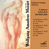 Mozart: Symphonies Nos. 32, 35 & 36 by Lithuanian Chamber Orchestra