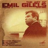 Art of Emil Gilels, Vol. 4 by Emil Gilels