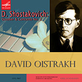 Shostakovich: October & Violin Concerto No. 2 by Various Artists