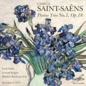 Saint-Saëns: Trio No. 1 by Mstislav Rostropovich