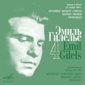 Emil Gilels Recitials, Vol. 4 (Live) by Emil Gilels