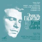 Emil Gilels Recitials, Vol. 5 (Live) by Emil Gilels