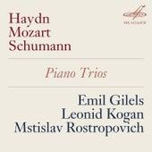 Haydn, Mozart & Schumann: Piano Trios by Mstislav Rostropovich