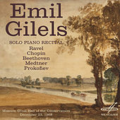 Emil Gilels: Solo Piano Recital. December 23, 1968 by Emil Gilels