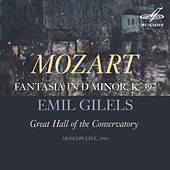 Mozart: Fantasia in D Minor, K. 397 (Live) by Emil Gilels