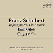Schubert: Impromptu No. 1 in F Minor by Emil Gilels