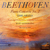 Beethoven: Piano Concerto No. 2, Op. 19 by Emil Gilels