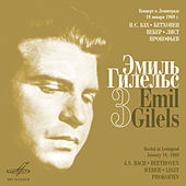 Emil Gilels Recitials, Vol. 3 (Live) by Emil Gilels