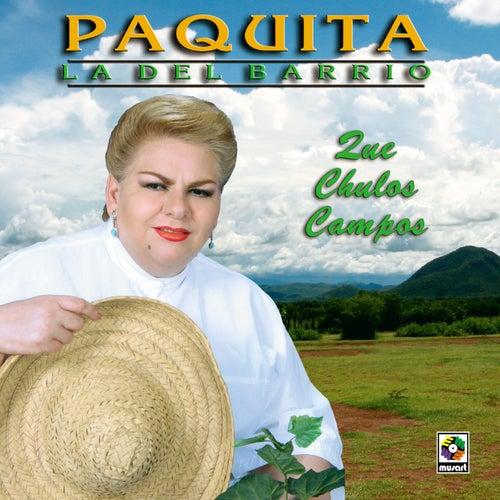 Que Chulos Campos by Paquita La Del Barrio