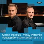 Tchaikovsky: Piano Concertos Nos. 1 & 2 by Simon Trpčeski
