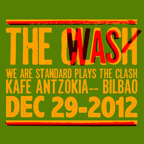 We Are Standard Plays the Clash (Live Dec 29-2012) by We Are Standard
