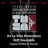 2014 Texas Music Educators Association (TMEA): De La Viña Elementary Orff Ensemble [Live] by De La Vina Elementary Orff Ensemble