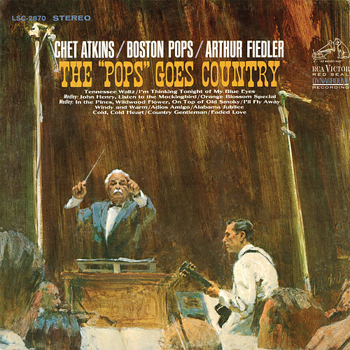 The Pops Goes Country by Arthur Fiedler