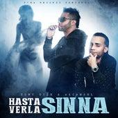 Hasta Verla Sin Na (feat. Arcangel) by Tony Dize