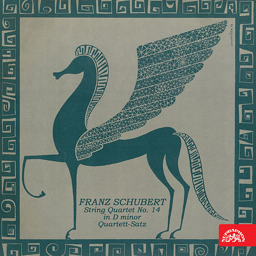 Schubert: String Quartet No. 14 in D Minor, Quartett-Satz by Smetana Quartet