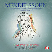 Mendelssohn: Concerto No. 1 for Piano and Orchestra in G Minor, Op. 25 (Digitally Remastered) by Ida Cernecká