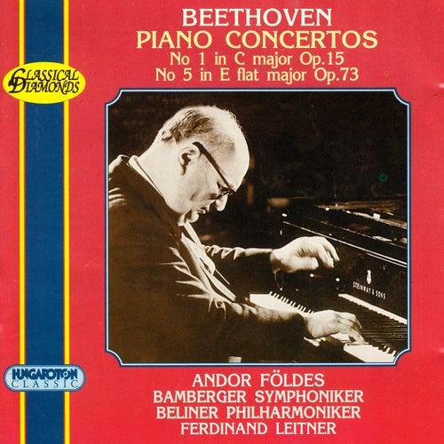 Beethoven: Piano Concertos Nos. 1 and 5 by Andor Foldes