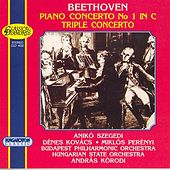 Beethoven: Piano Concerto No. 1 / Triple Concerto for Violin, Cello and Piano, Op. 56 by Aniko Szegedi