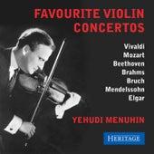 Favourite Violin Concertos by Yehudi Menuhin