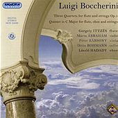 Boccherini: 3 Quartets for flute and strings, Op. 5 - Quintet in C major for flute, oboe and strings by Gergely Ittzes
