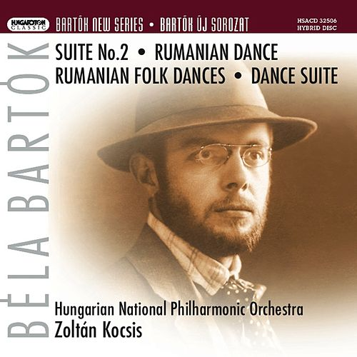Bartok, B.: Orchestral Suite No. 2 / Romanian Dance / Romanian Folk Dances / Dance Suite by Hungarian National Philharmonic