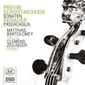 Previn, Shostakovich & Berauer: Works for Cello & Piano by Matthias Bartolomey