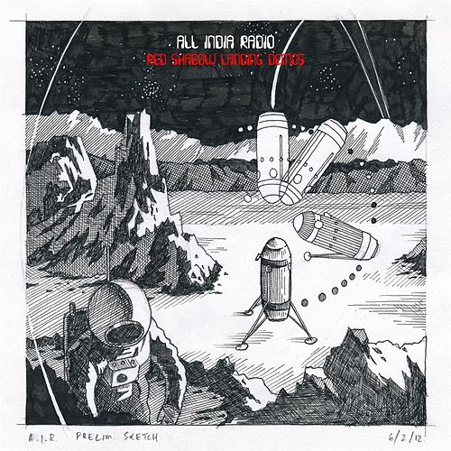 Red Shadow Landing (Demos) by All India Radio