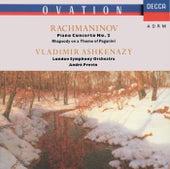 Rachmaninov: Piano Concerto No.2; Rhapsody on a Theme of Paganini von Vladimir Ashkenazy